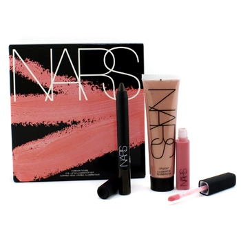 NARS-Forever-Yours-Eye-Lip-Illuminator-Set-1xSoft-Touch-Shadow-Pencil-1xLip-Gloss-1xIlluminator-3pcs-121126