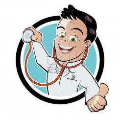 11601167-funny-cartoon-doctor