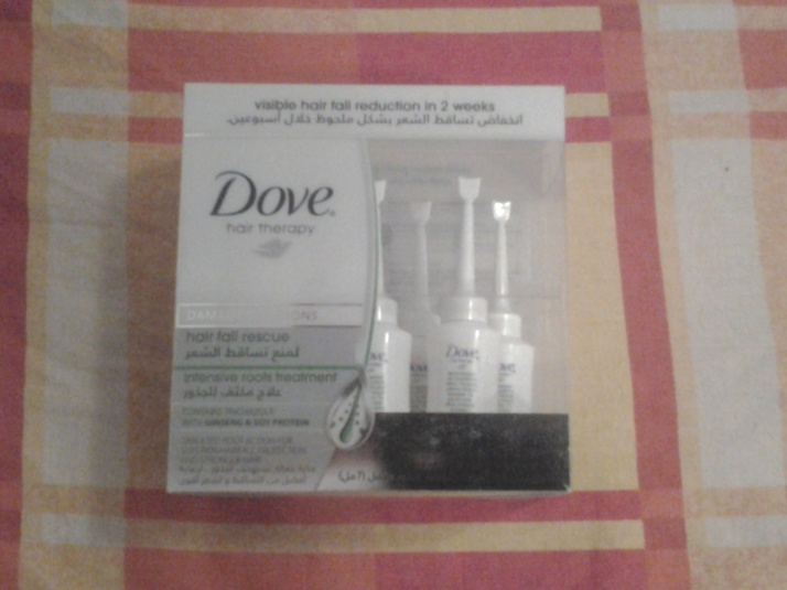 Review : Dove Hair Fall Rescue Intensive Roots Treatment!