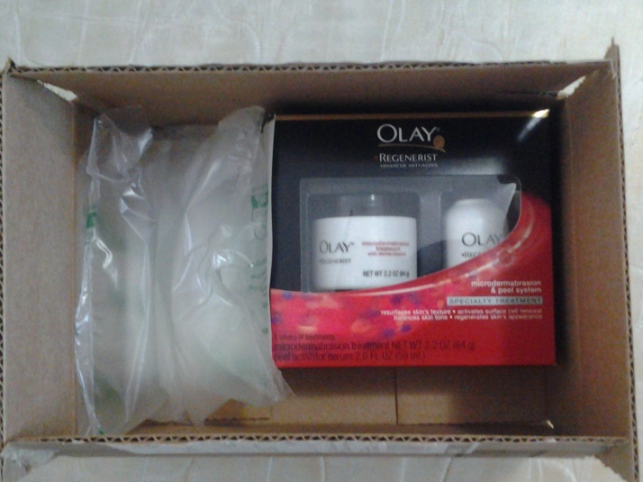 Review: Olay Regenerist Microdermabrasion and Peel system! (Amazon purchase #2)