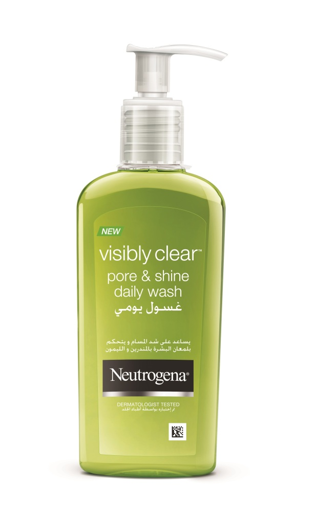 Neutrogena Visibly Clear Pore & Shine Daily Wash