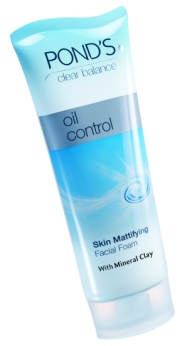 Ponds_Clear Balance_Oil Control_Facial Foam