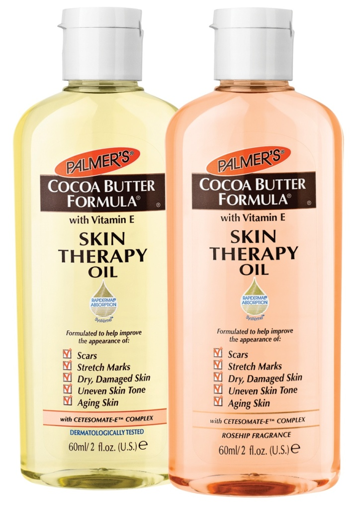Palmer's Cocoa Butter Formula Skin Therapy Oil supports Breast Cancer Arabia!