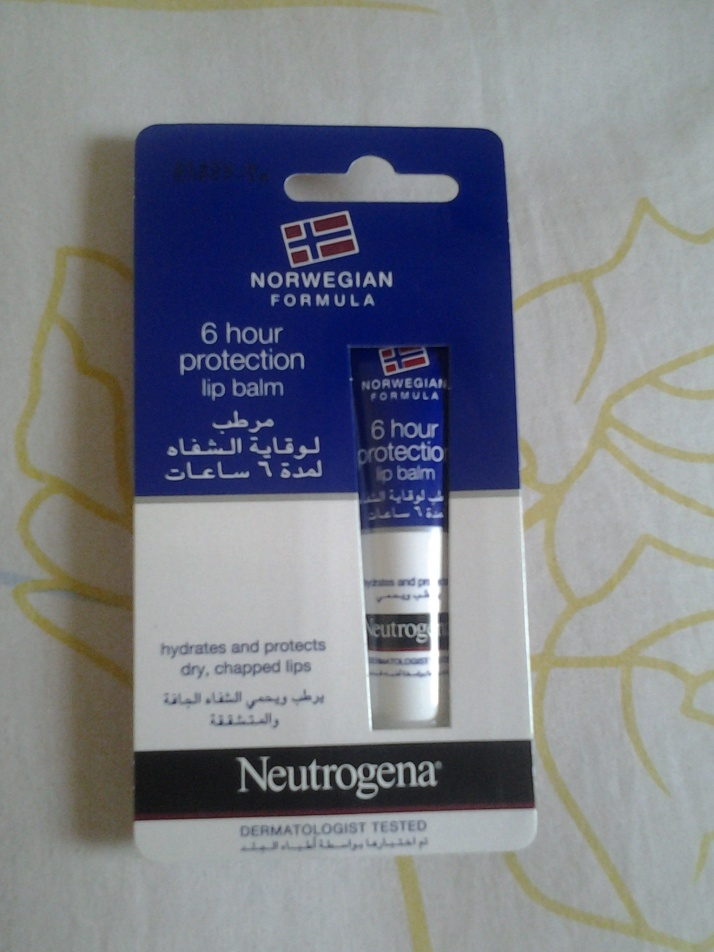 Review: 6 hour Protection Lip balm by Neutrogena!