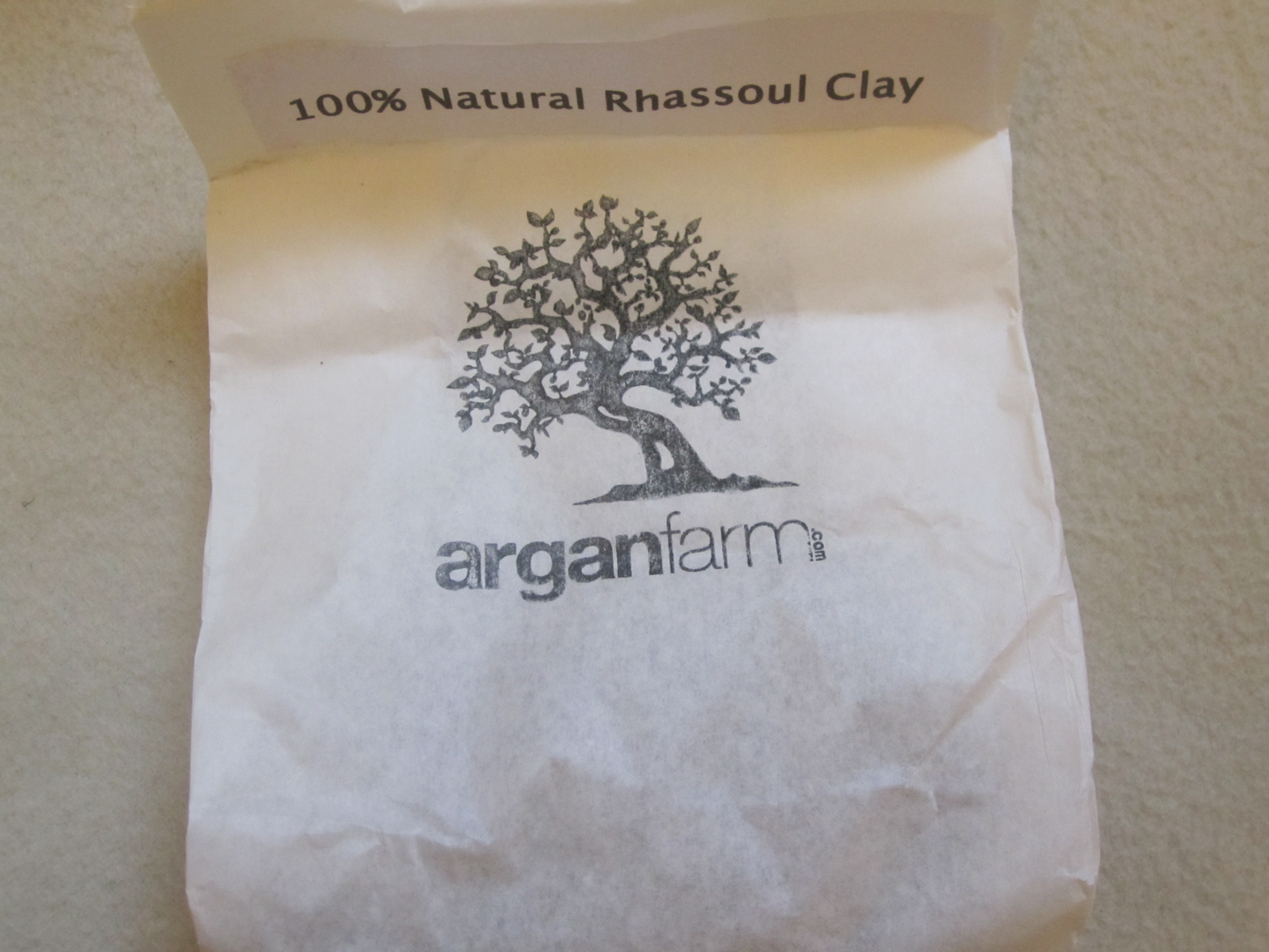CArgan oil and ghassoul clay of Morocco