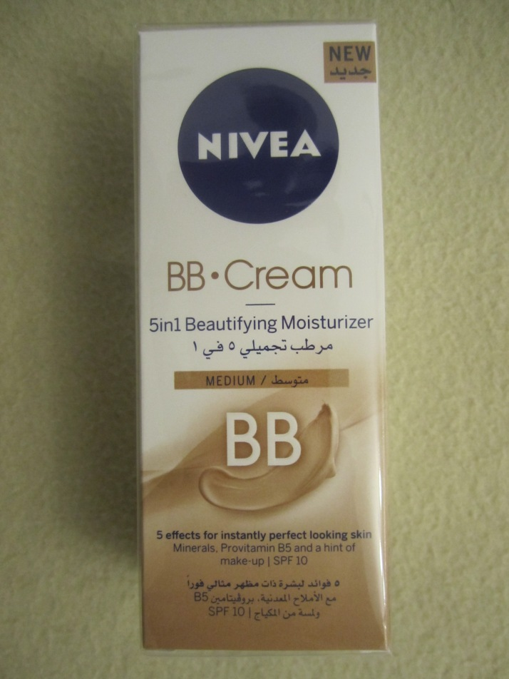 Review : Nivea BB Cream - 5 in 1 Beautifying Moisturizer!