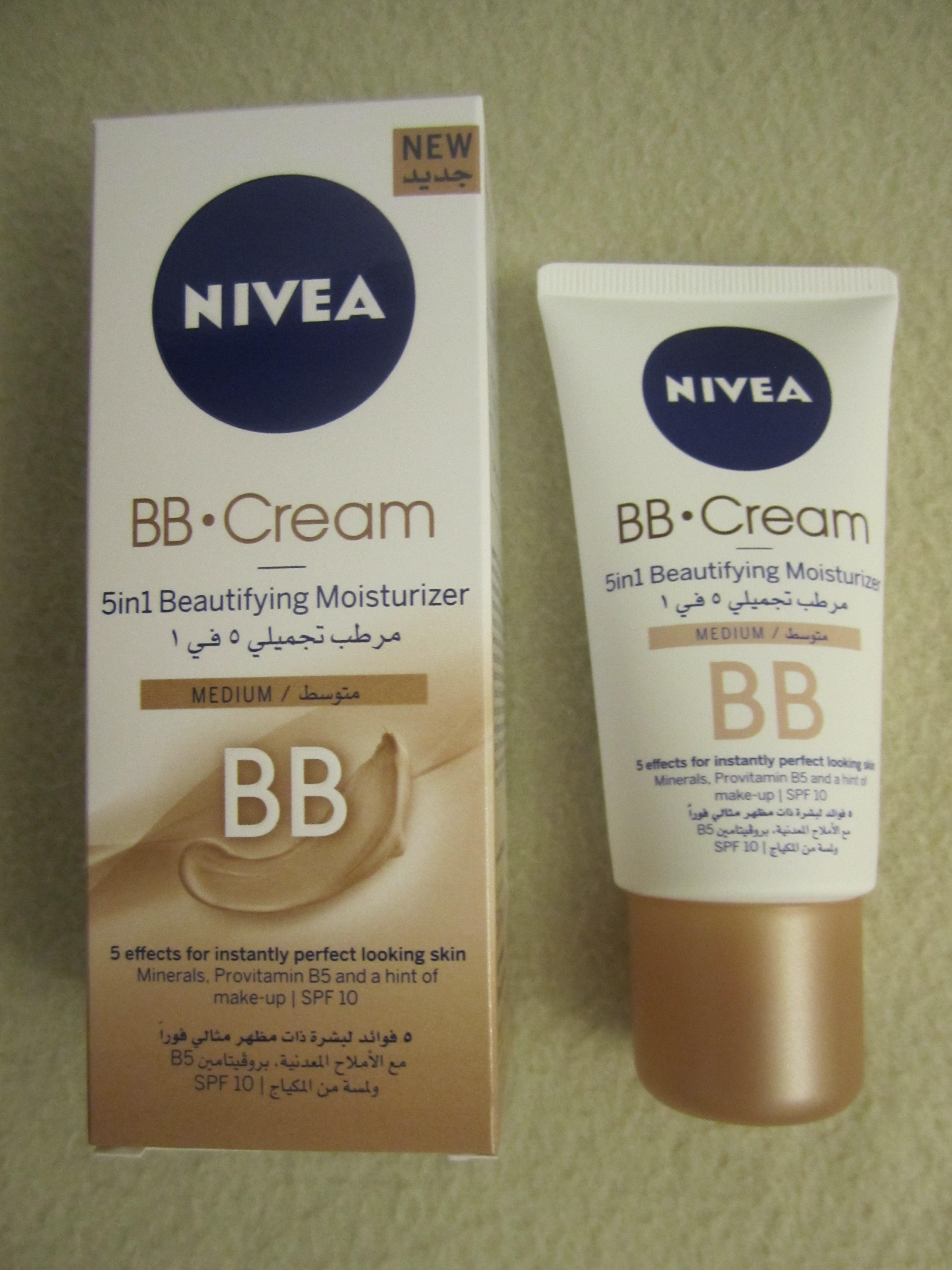 review nivea bb cream 5 in 1 beautifying moisturizer nazninazeez. Black Bedroom Furniture Sets. Home Design Ideas