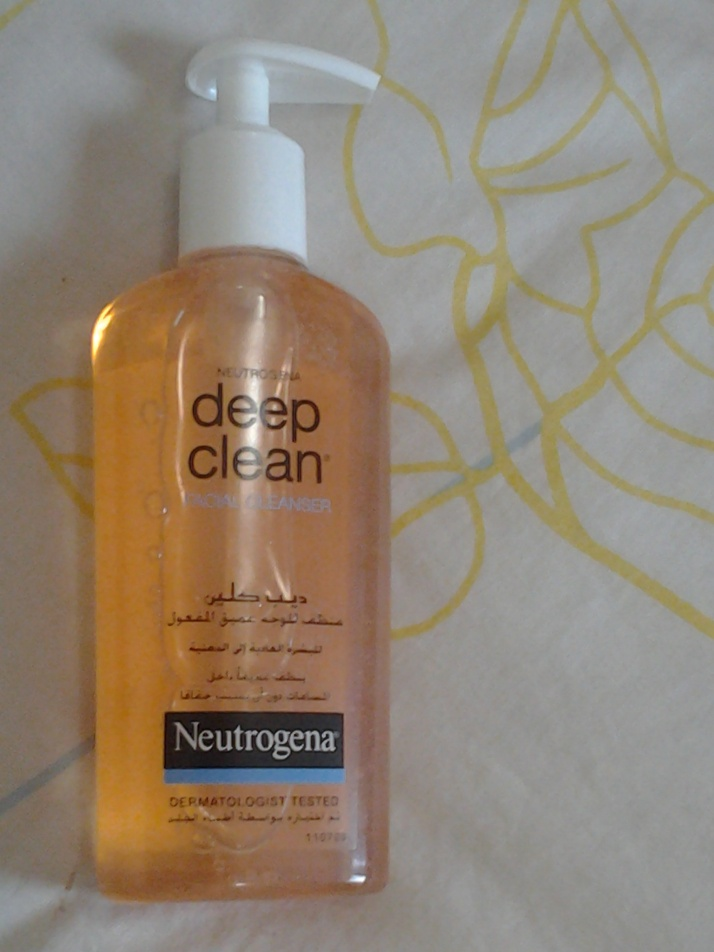 Review: Neutrogena Deep Clean Facial Cleanser!