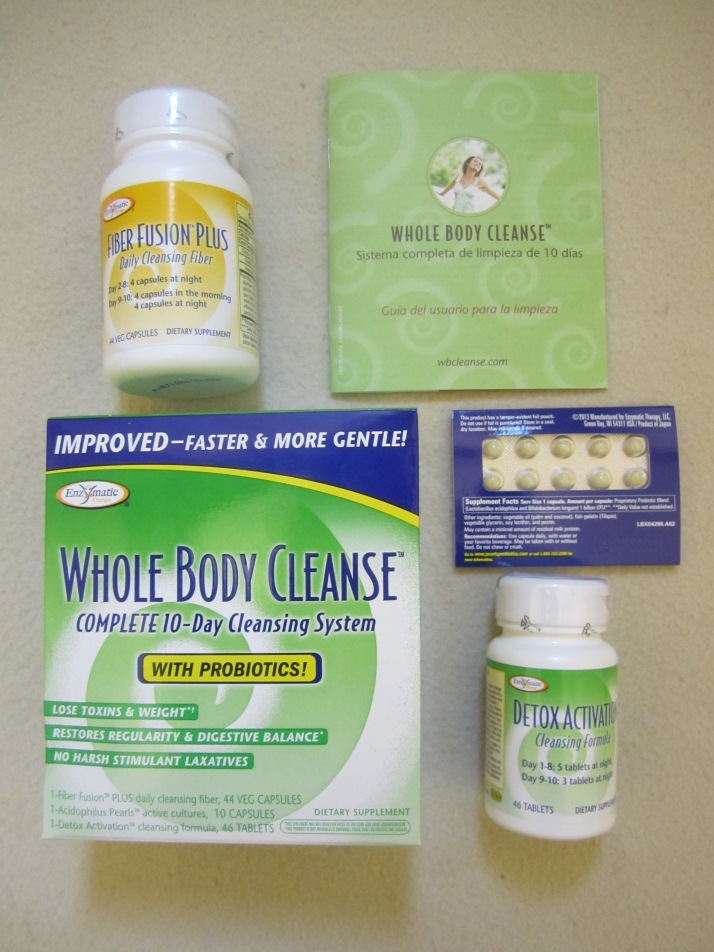 Review : Enzymatic Whole Body Cleanse - Complete 10 day cleansing system!