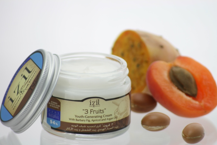 Izil Natural Argan Beauty's 3 Fruits Youth-Generating Cream!
