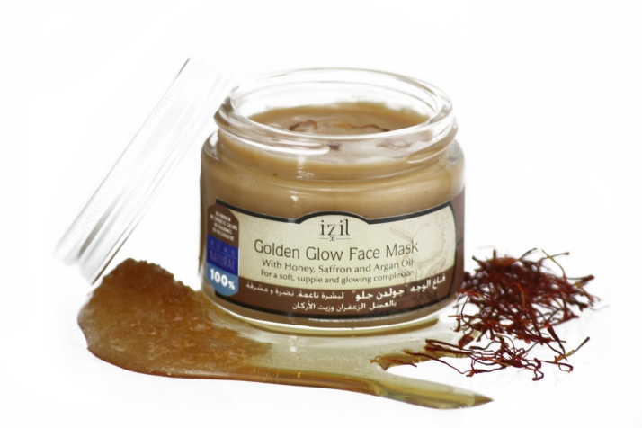 Golden Glow Face Mask