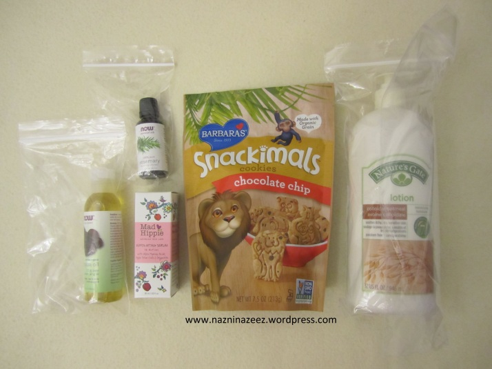 iHerb Haul #5 - Skincare/Haircare products and snacks :)